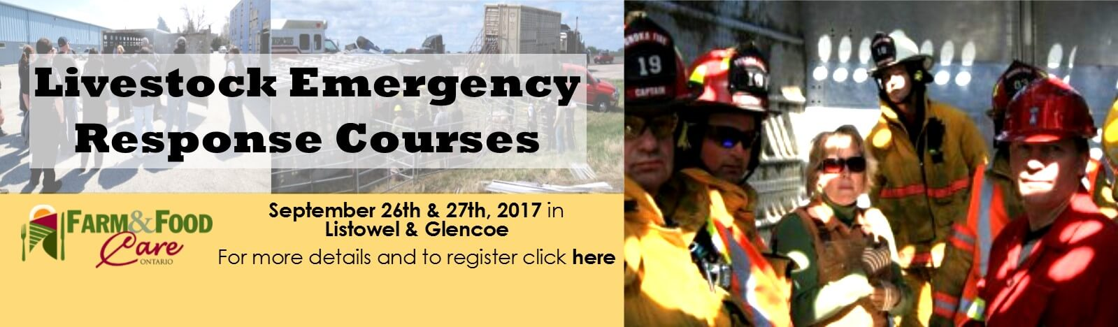 Livestock Emergency Course